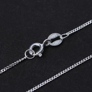 925 Sterling Silver Snake Chain 10 Styles Necklace
